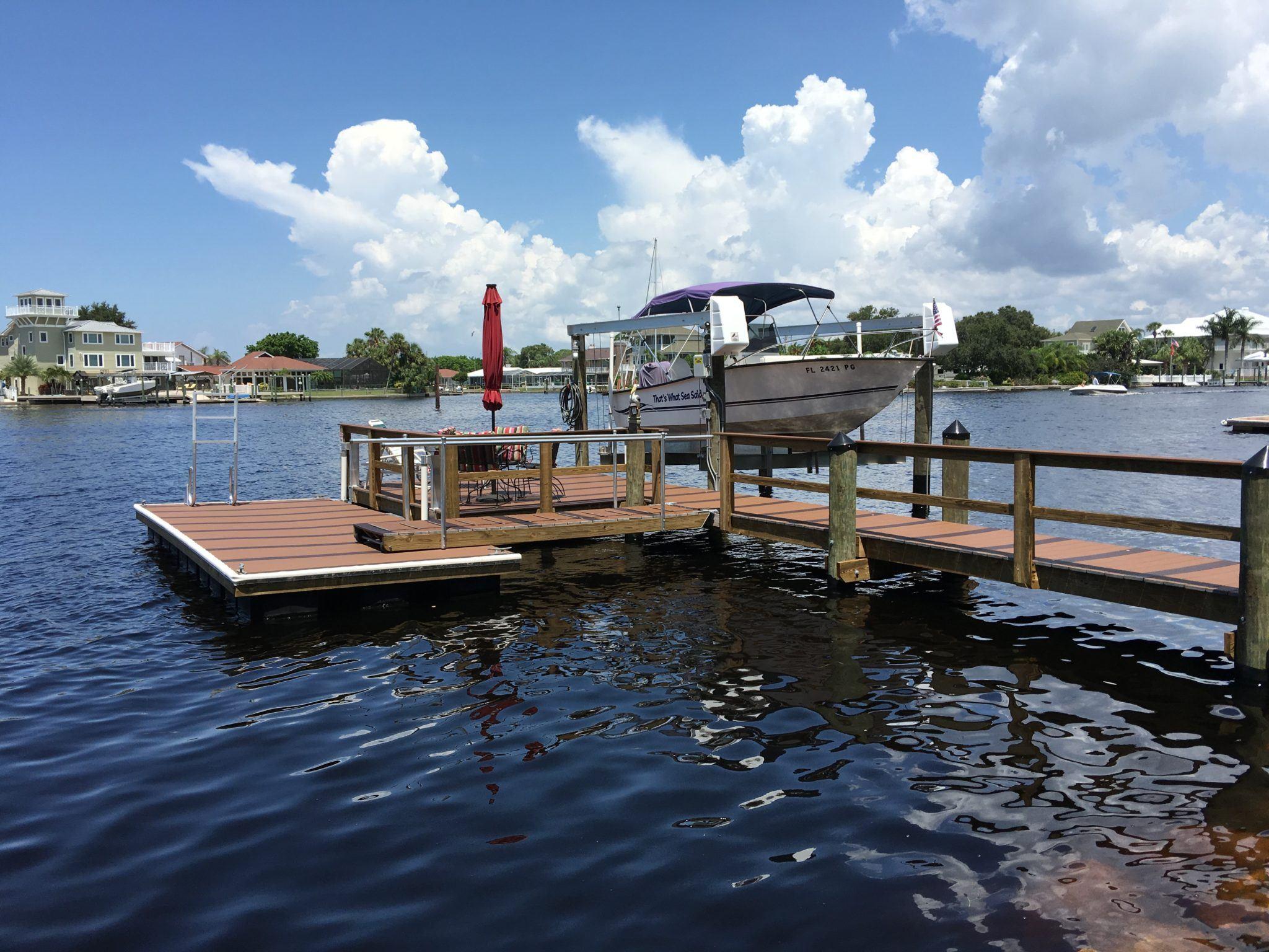 Trex Dock & Floating Dock - Gulfside Docks